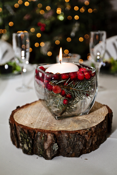 Christmas Floating Candles.Christmas Table Centerpiece Inspirations Harbor Farm Wreaths
