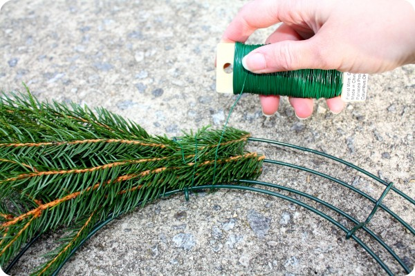 Getting Fresh Christmas Wreaths - Harbor Farm Wreaths